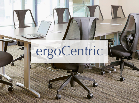 ergocentric task chair close up photo