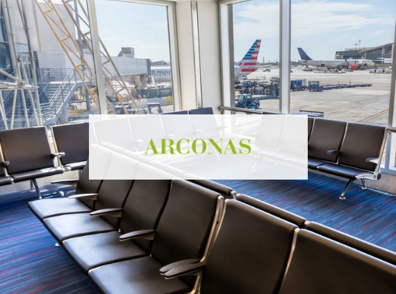 Arconas airport seating