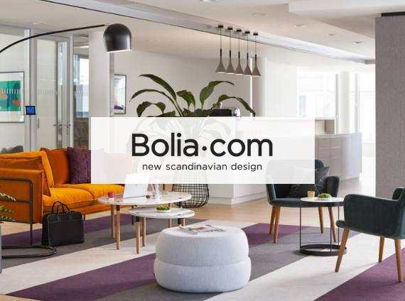 bolia lounge setting