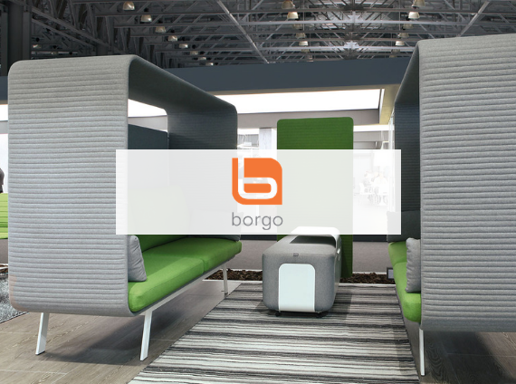 borgo privacy pod workplace setting