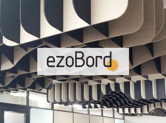 ezoboard acoustical ceiling panels