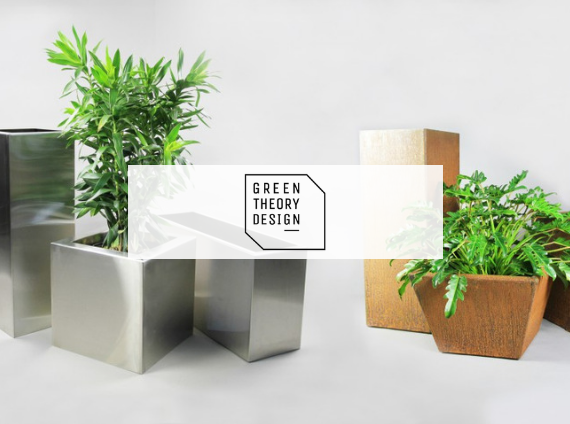 green theory design custom planters