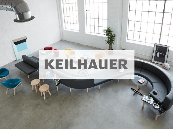 keilhauer modular lounge setting