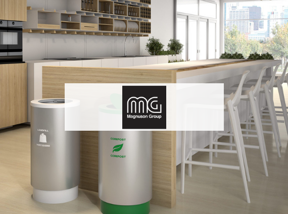 magnussen recycling bins for office