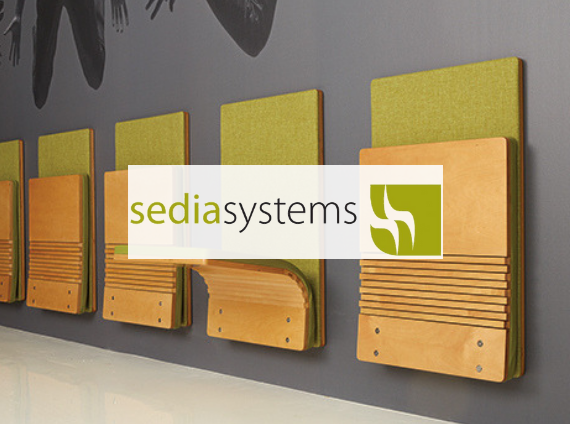 sedia systems wall mounted jump seat