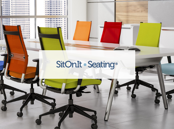 sit on it task chairs with mesh backs