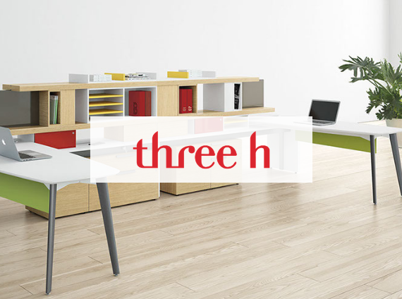 three h desk system