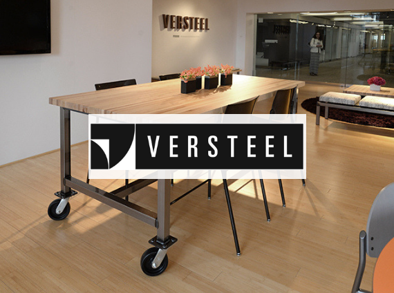 versteel mobile office setting