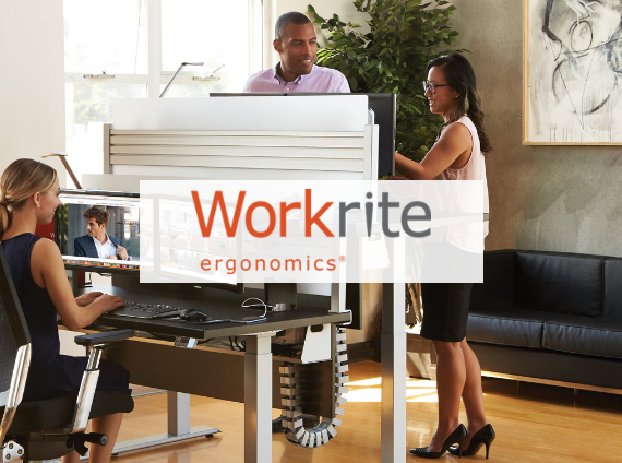 workrite ergonomics height adjustable desk