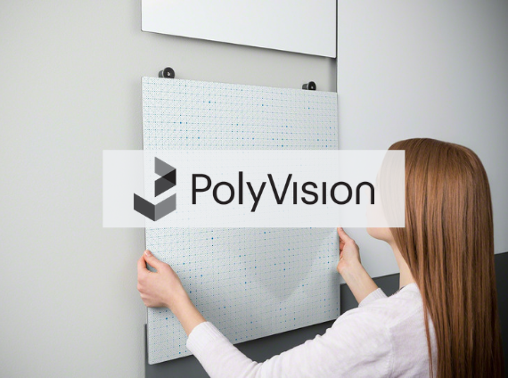 polyvision writing surface materials, link to polyvision website